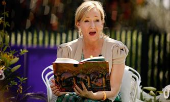 """Joanne K. Rowling liest aus """"Harry Potter und der Stein der Weisen"""""""