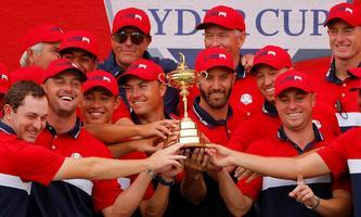 US-Team mit Pokal