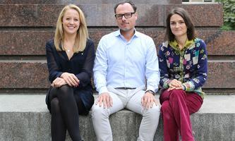 Bianca Gfrei, Alexander Just und Silvia Hecher.