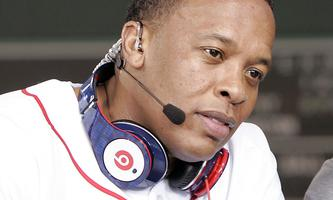 Cleveland Cavaliers James and recording artist Dr. Dre attend MLB´s 2010 season opener to watch the New York Yankees take on the Boston Red Sox in their American League baseball game in Boston