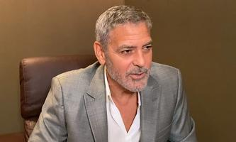 George Clooney im Interview.
