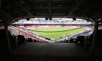 """Bewerbsspiele im Fußball (im Bild das Salzburger Stadion) finden aufgrund einer """"Vereinbarung"""" mit dem Ministerium gänzlich ohne Zuschauer statt."""
