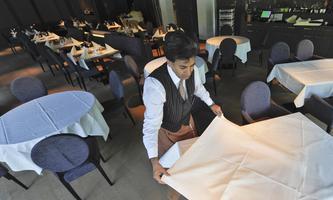 Die Beschäftigung in der Gastronomie steigt, liegt aber noch unter dem Vorkrisenniveau