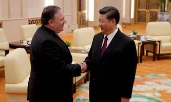 2018 war die Stimmung zwischen den USA und China noch freundlicher (Archivbild).