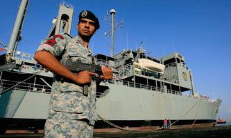 Ein Elitesoldat der iranischen Marine. Auf See tobt ein Schattenkrieg.