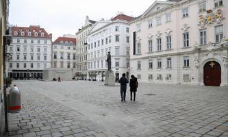 Die Wiener Innenstadt im aktuellen Lockdown-Modus, Judenplatz