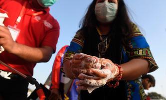 Hände mit Seife waschen ist für die gesamte Bevölkerung ein Muss, um Sars-CoV-2 an der Ausbreitung zu hindern.