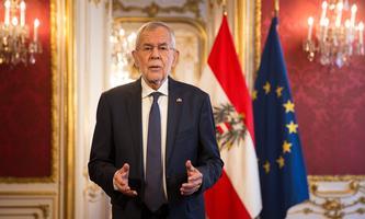 Bundespräsident Alexander Van der Bellen am Nationalfeiertag