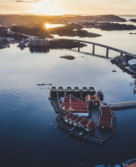 Schären und Inseln prägen die kleinteilige Wasserlandschaft Westschwedens.
