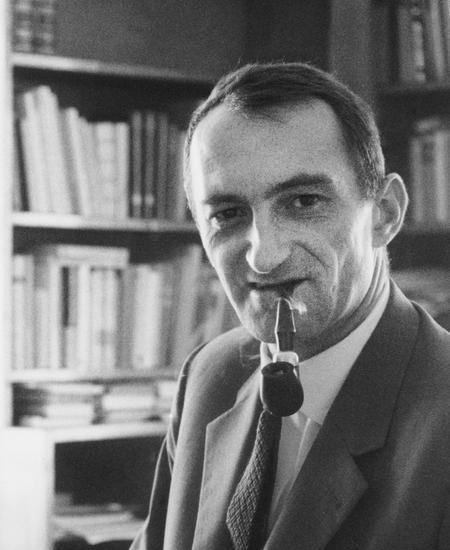 Schreibbesessener Schriftsteller: Herbert Eisenreich.