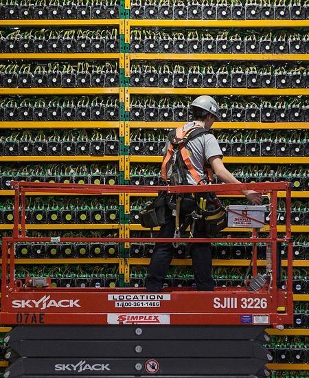 Bitcoin-Mining benötigt viel Strom.