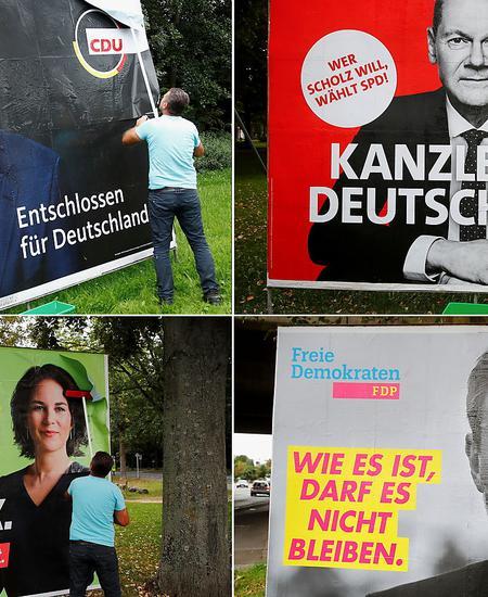 Drei aus vier werden vermutlich künftig die neue Koalition in Deutschland bilden. Grüne und FDP sind vorerst gesetzt.