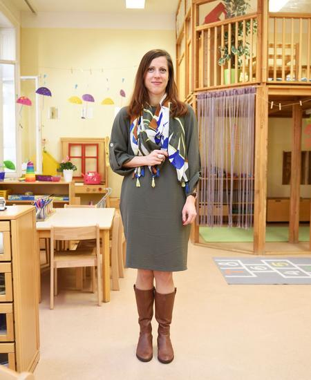 Elisabeth Omerzu leitet einen Kindergarten mit 130 Kindern.