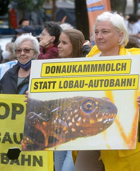 DEMONSTRATION 'GROSSDEMO GEGEN DIE LOBAU-AUTOBAHN'