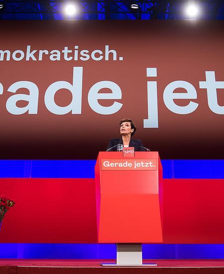 Pamela Rendi-Wagner beim Parteitag der SPÖ vor zwei Wochen.