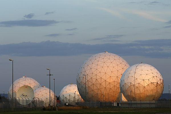 Bad Aibling: Abhörstation der NSA.