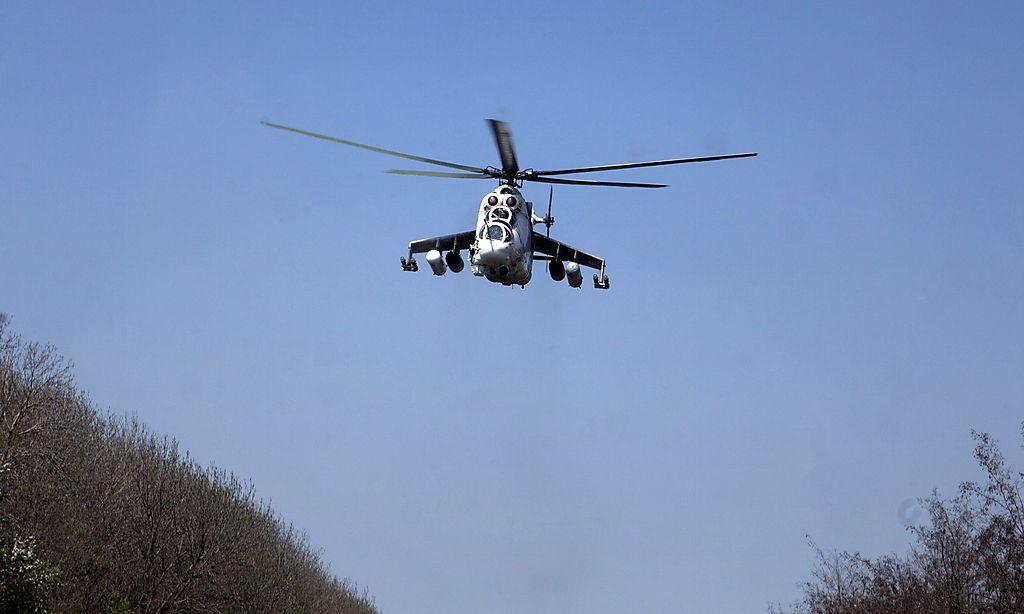 Ukrainische Mi-24