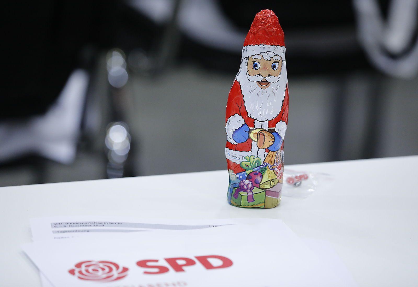 Deutschland, Berlin, Ordentlicher SPD-Bundesparteitag vom 06. bis 08. Dezember 2019 in Berlin, 06.12.2019 *** Germany, B