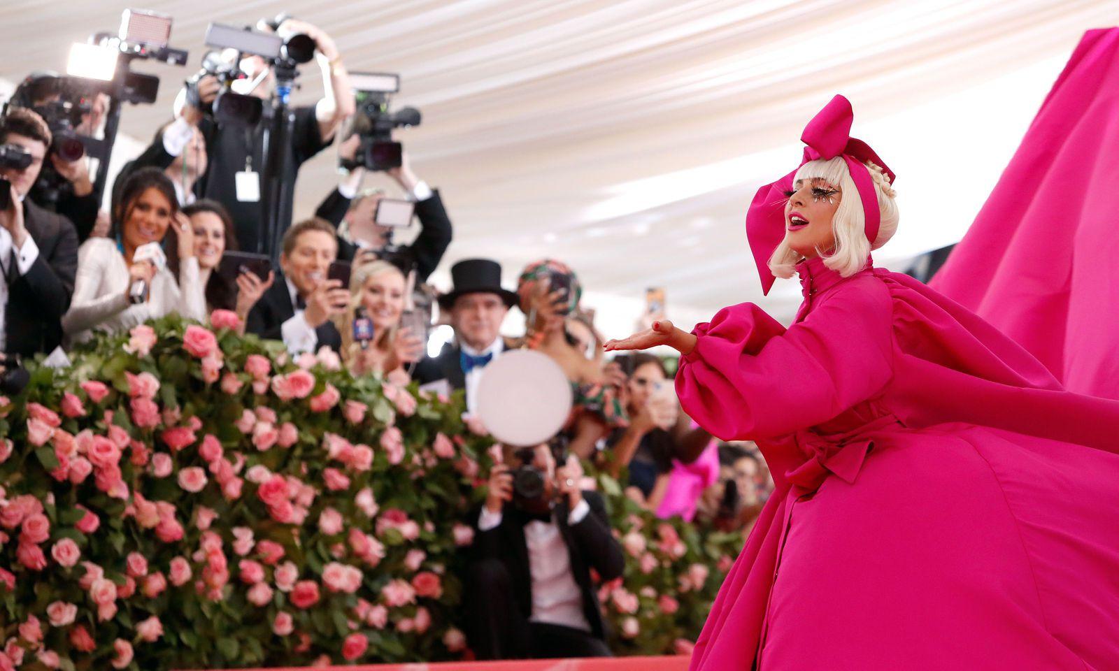 Metropolitan Museum of Art Costume Institute Gala - Met Gala�-�Camp: Notes on Fashion - Arrivals�- New York City, U.S.