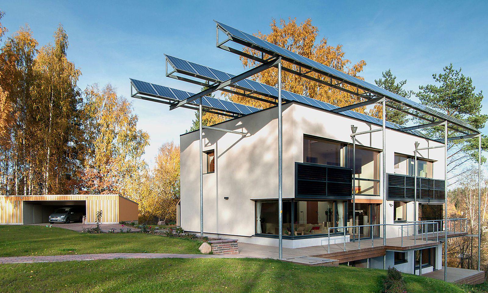 Einfamilienhaus Leis, Estland