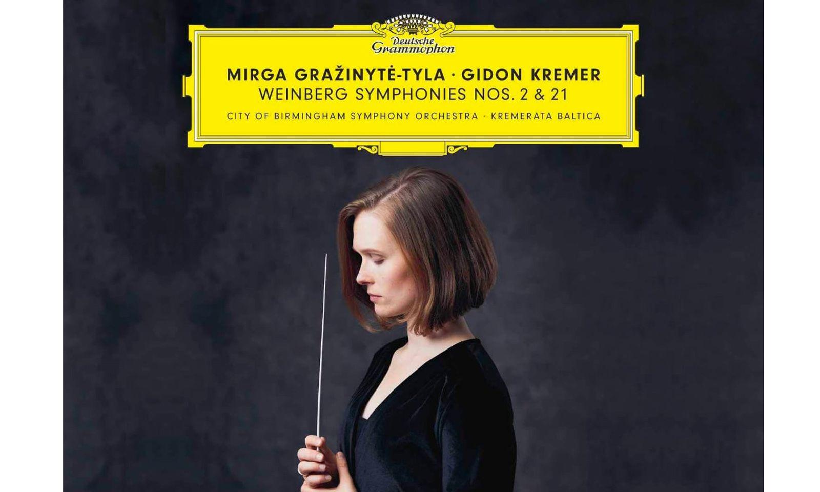 "Mirga Gražinytė-Tyla und Gidon Kremer: ""Weinberg Symphonies"""