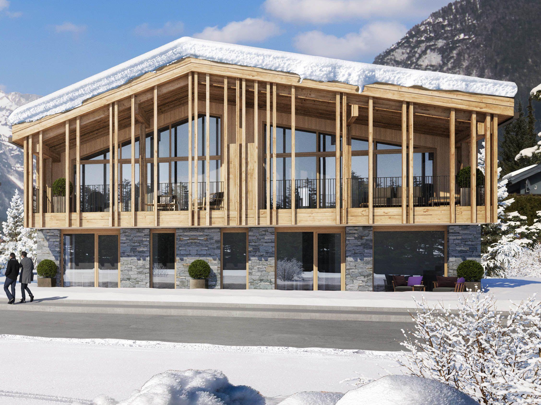 Projekt mit vier Anlegerwohnungen in Leutasch nahe Seefeld