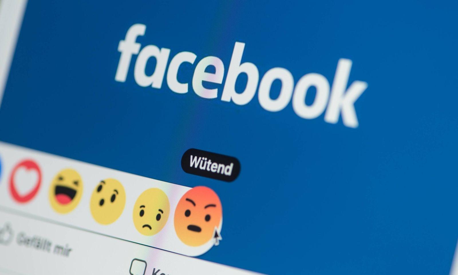 Symbolbilder zum Thema Facebook am Mittwoch 04 04 2018 *** Icons on Facebook on Wednesday 04 04 2