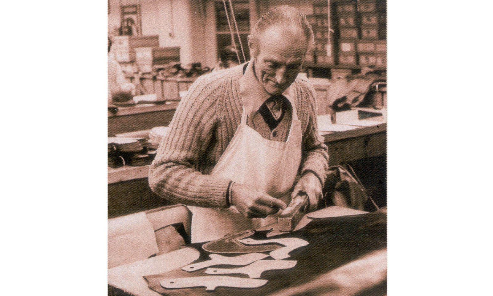 Nostalgie. Das Outfit der Arbeiter ist nicht mehr dasselbe, die Handwerkskunst sehr wohl.