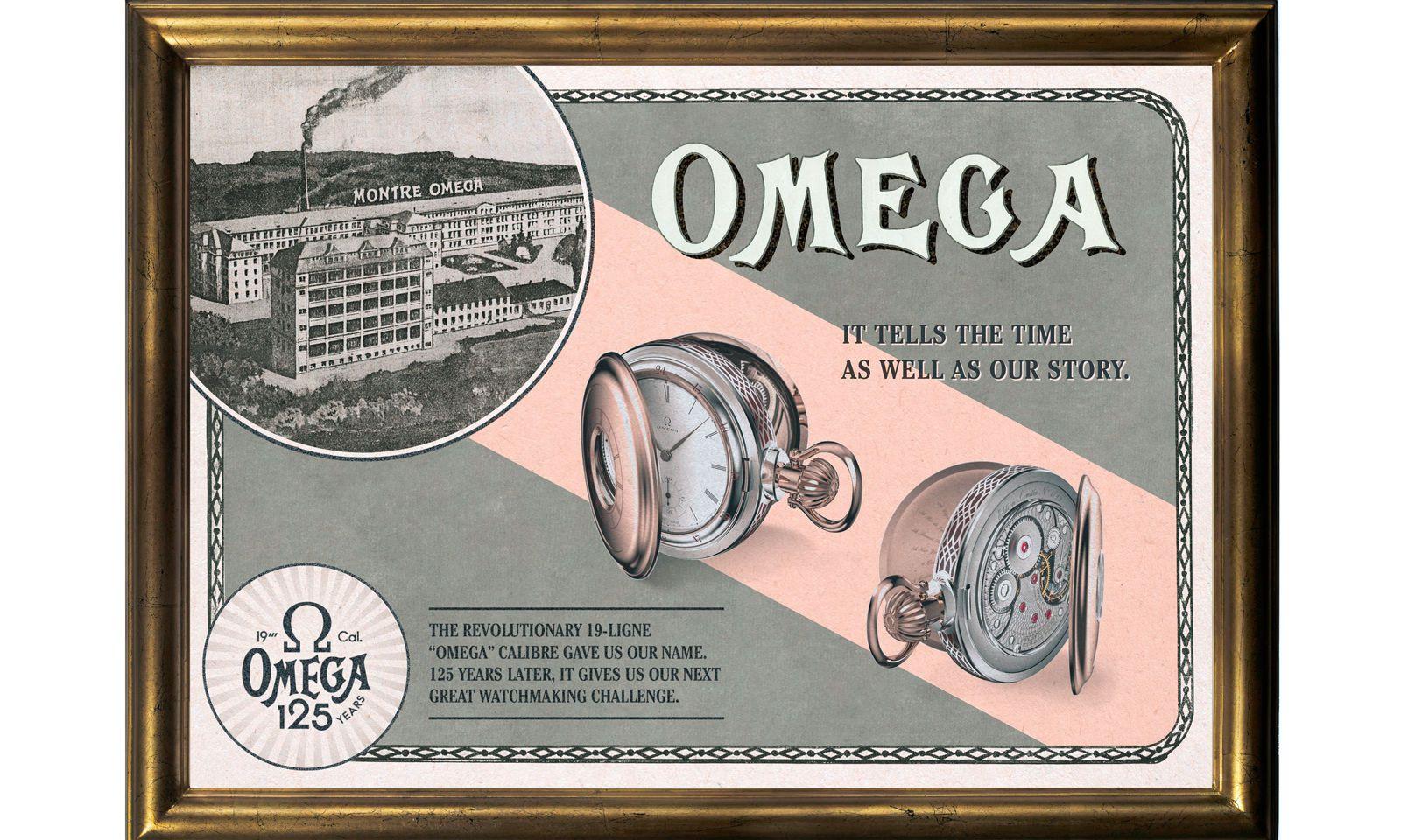 Exklusiv: Die Taschenuhren mit dem 19-Linien-Omega-Kaliber sind auf lediglich 19 Stück beschränkt.