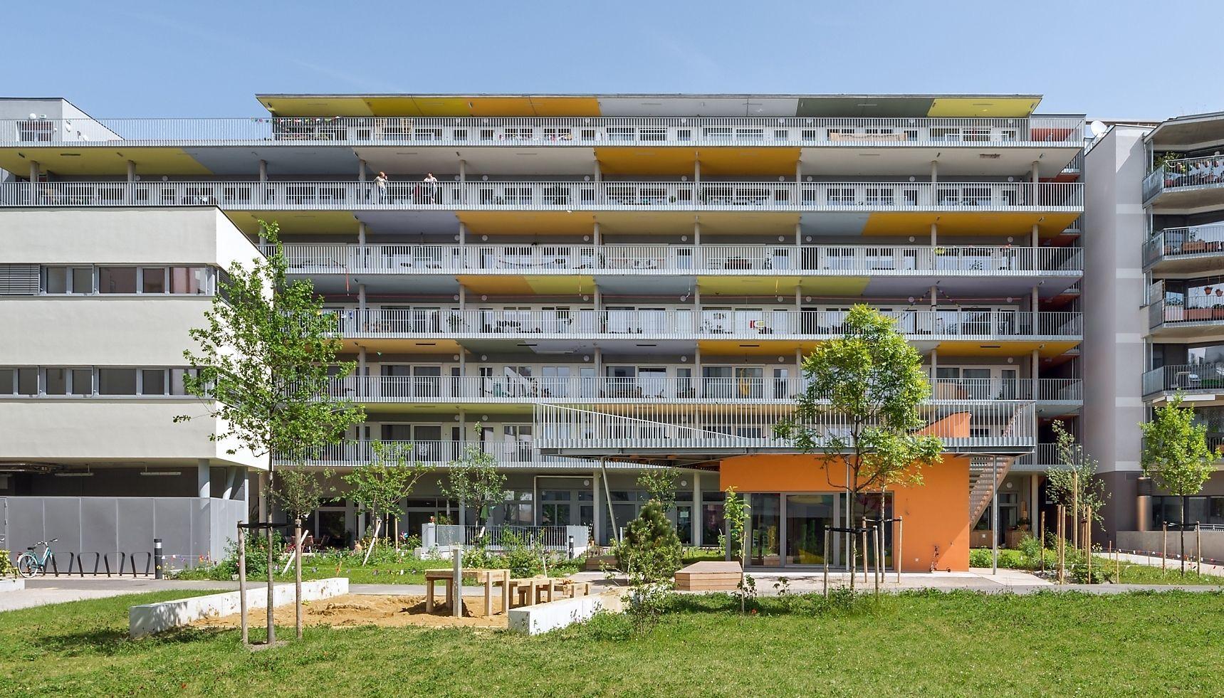 Baugruppen-Projekt LiSA in der Seestadt Aspern.