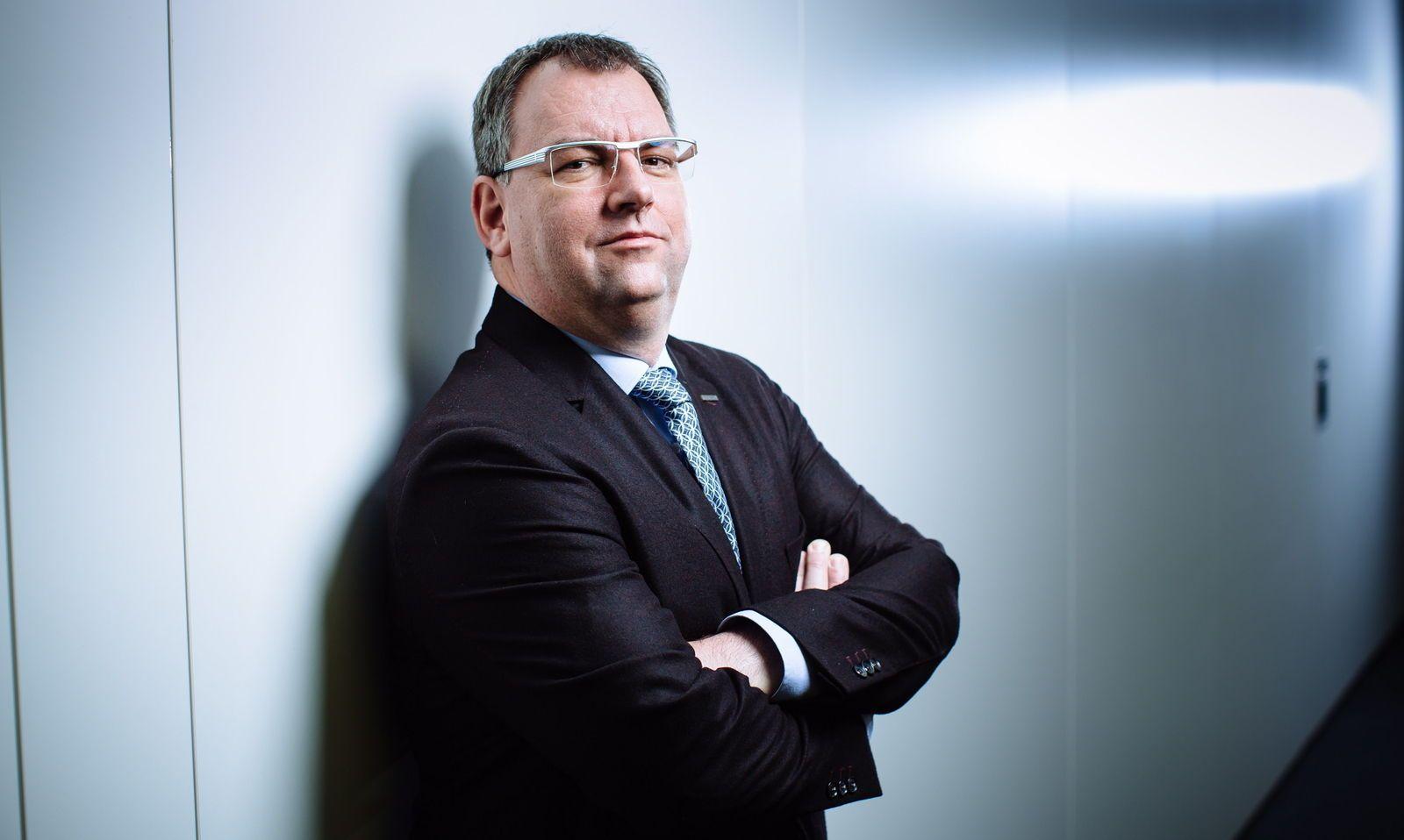 Helmut Fallmann ist auf der Suche nach Entrepreneuren.
