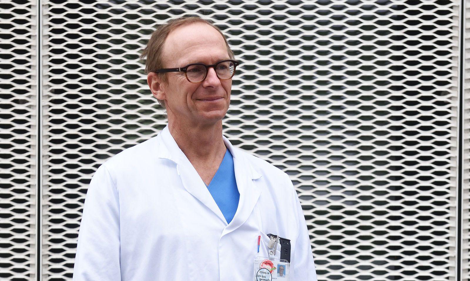 Mediziner Christoph Wenisch, Experte für Infektionskrankheiten – und Viren.
