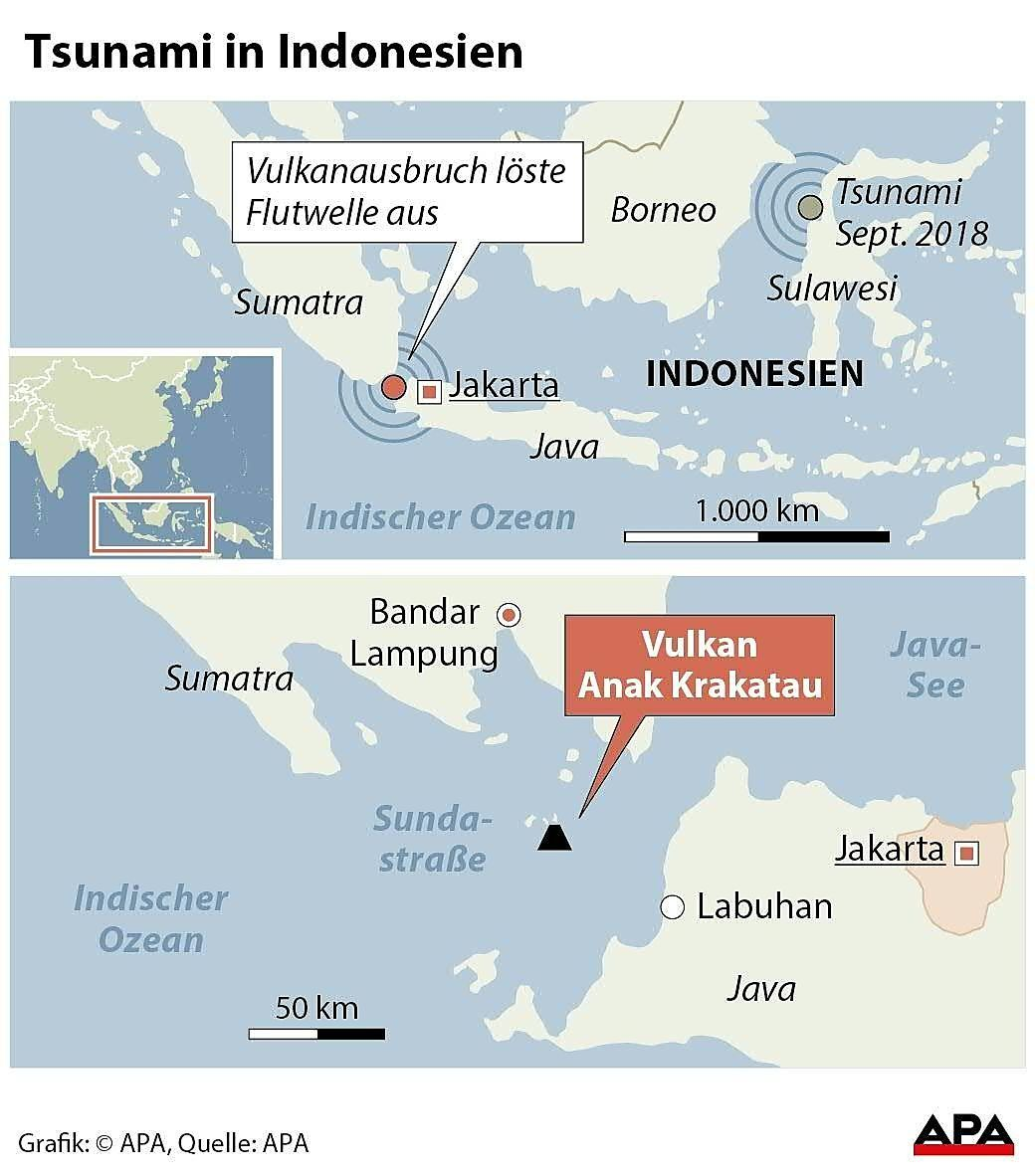 Tsunami in Indonesien