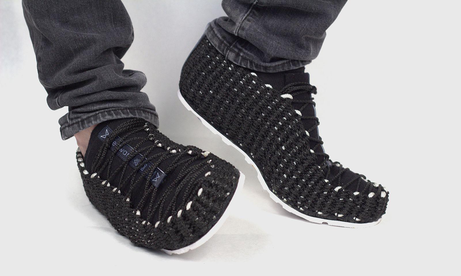 Weftwarp. Gewebte Schuhe mit einer Portion Handwerk.