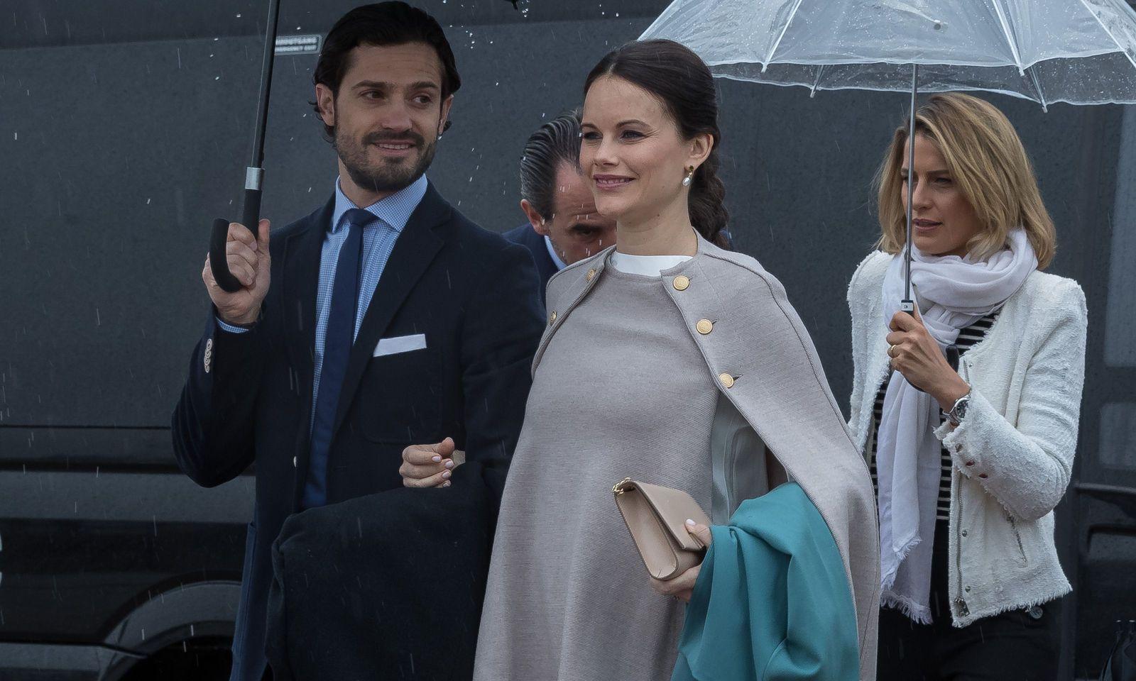 Prinz Carl Philip und Prinzessin Sofia von Schweden mit Corona infiziert