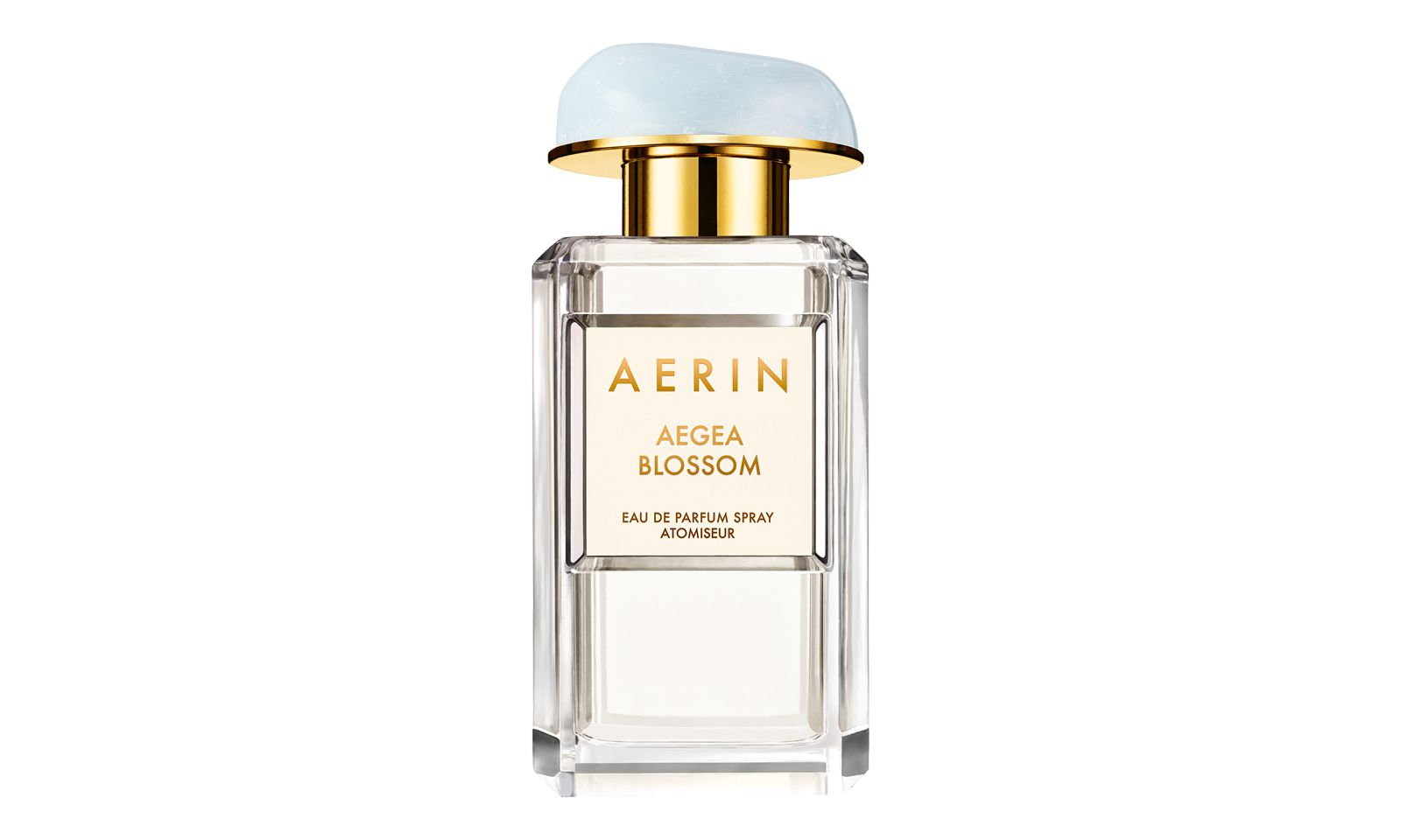 """Meerblick. Der neue Duft von Aerin heißt """"Aegean Blossom"""" und ist eine sommerlich- florale Komposition (50 ml Eau de Parfum um 104 Euro)."""