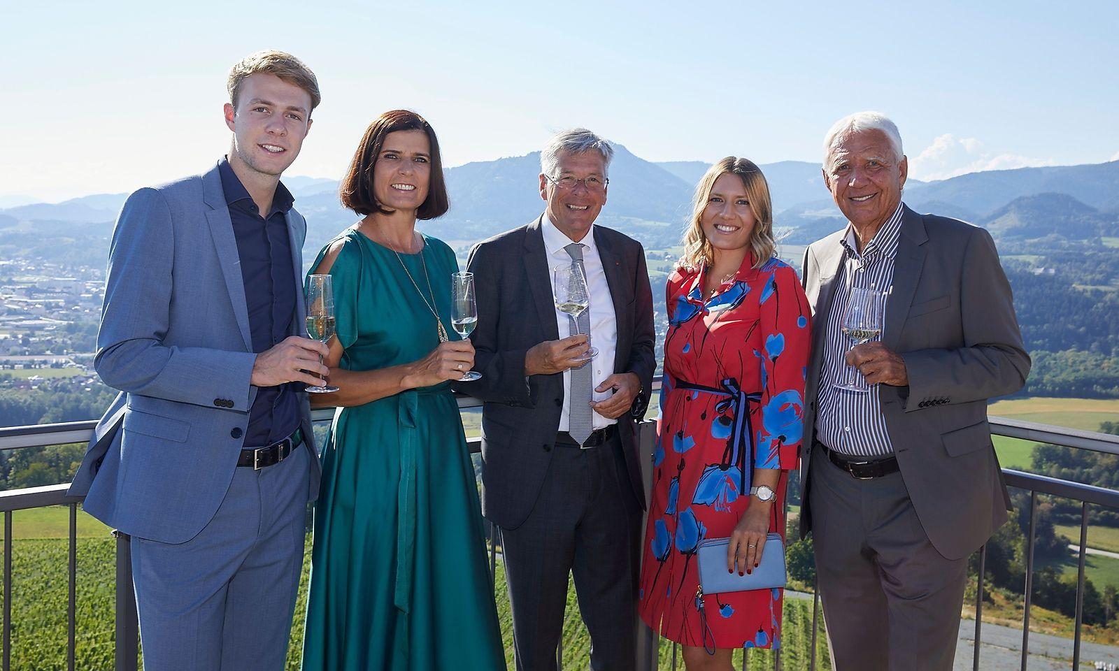 Feiern mit dem Jacques Lemans-Gründer: Weinlese auf der Burgruine Taggenbrunn [premium]
