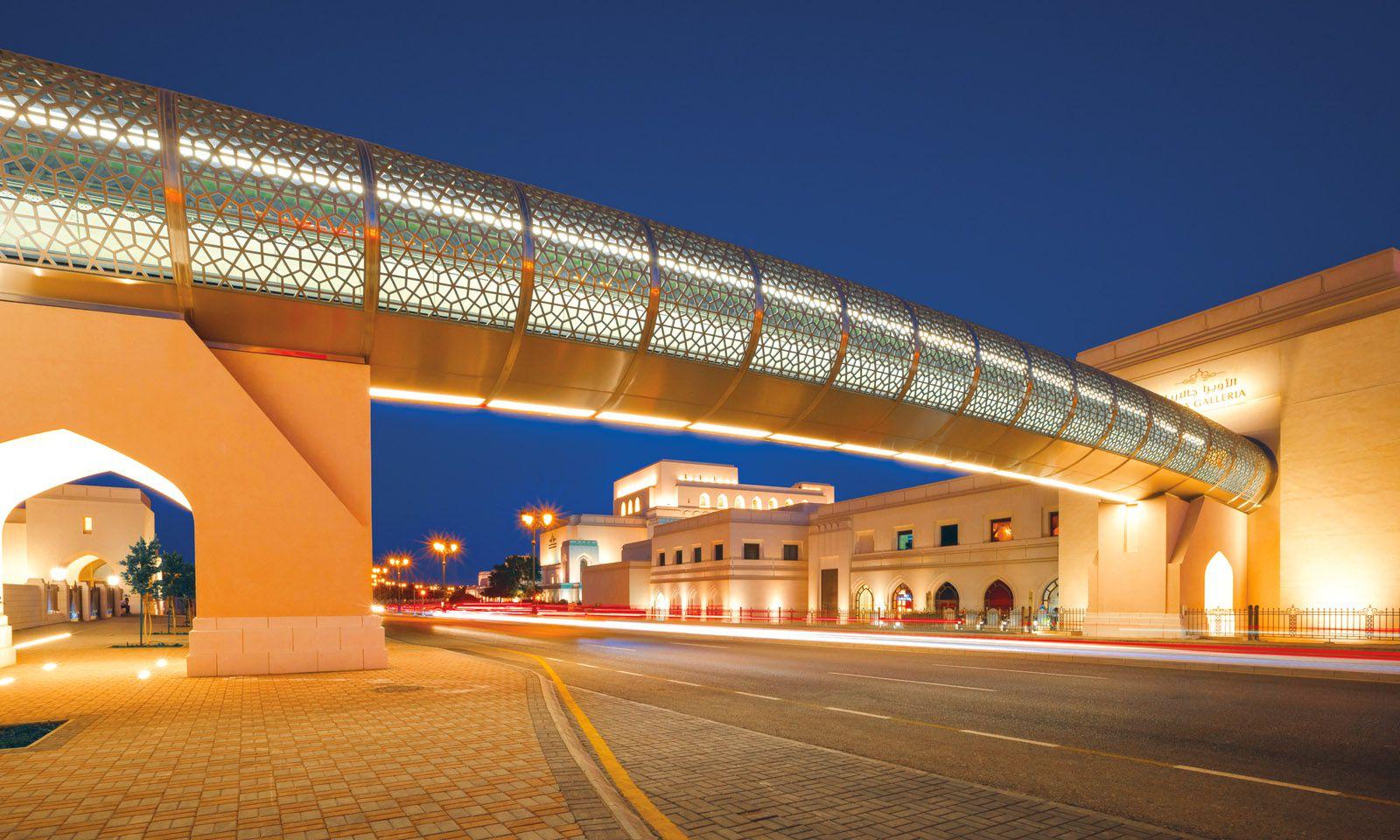 Monumental. Das Royal Opera House Muscat ist Teil eines größeren Kulturkomplexes.