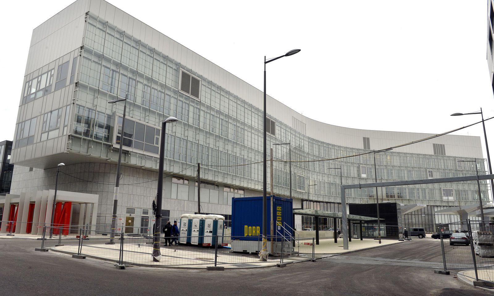 Eine Bauzaunwartung beim KH Nord kostete 839.000 Euro