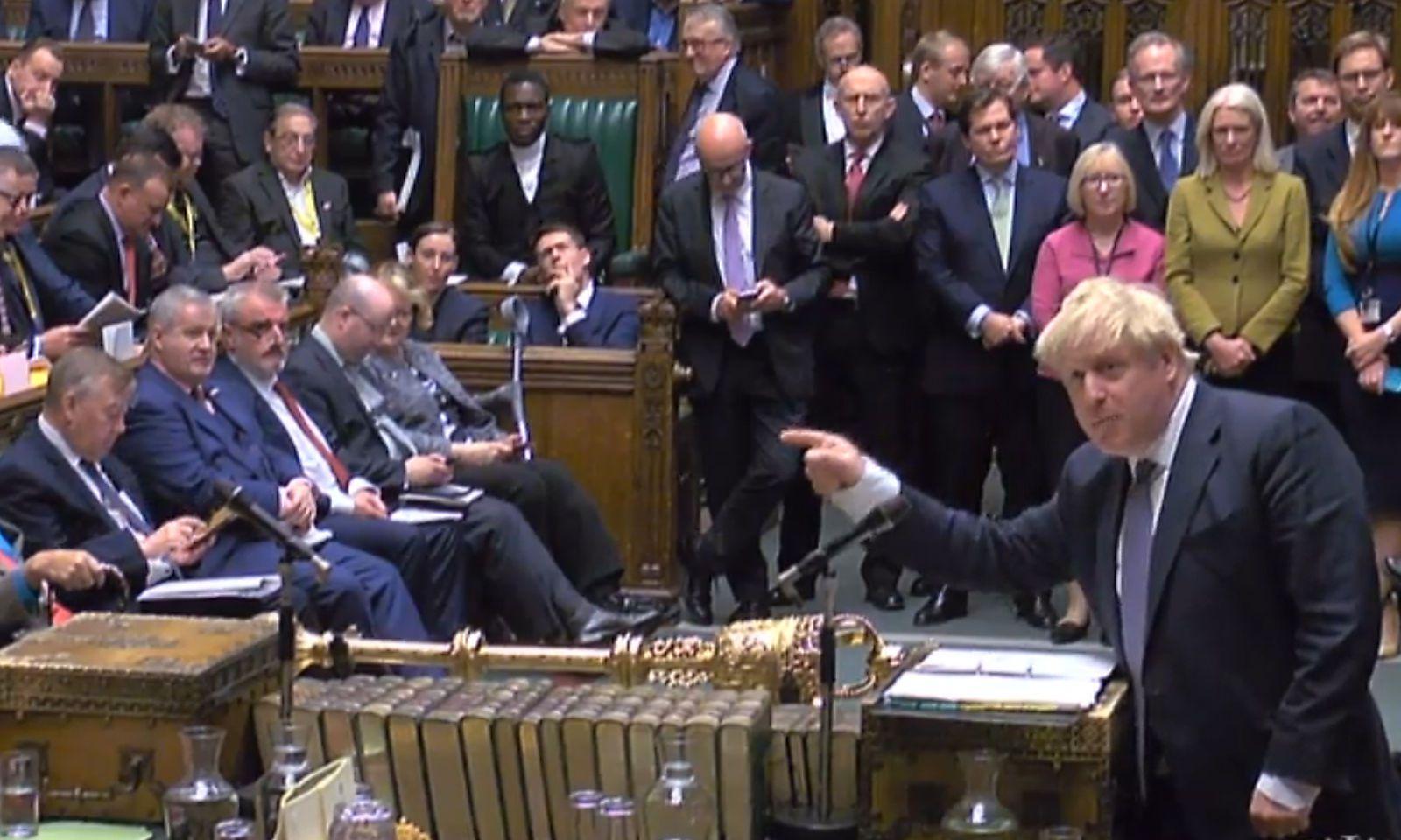 Premier Boris Johnson will Neuwahl am 12. Dezember - Politik