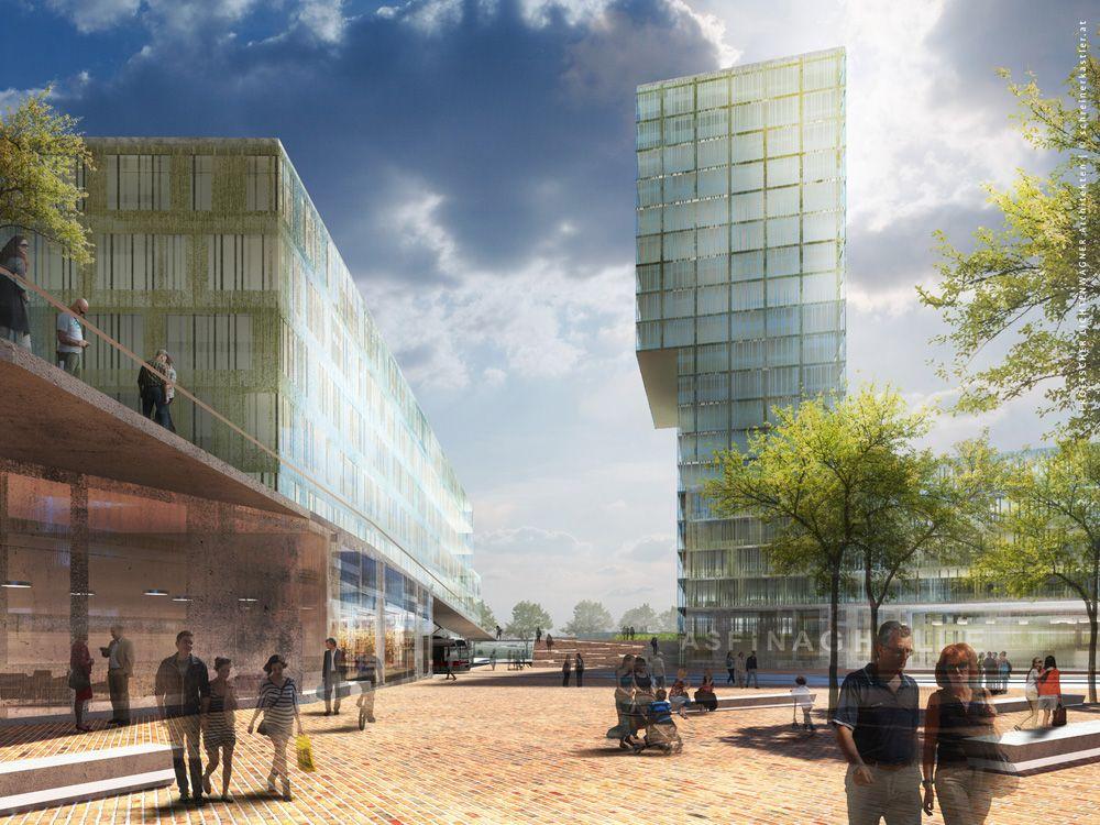 Architektur-Visualisierungen Verteilerkreis Wien-Favoriten