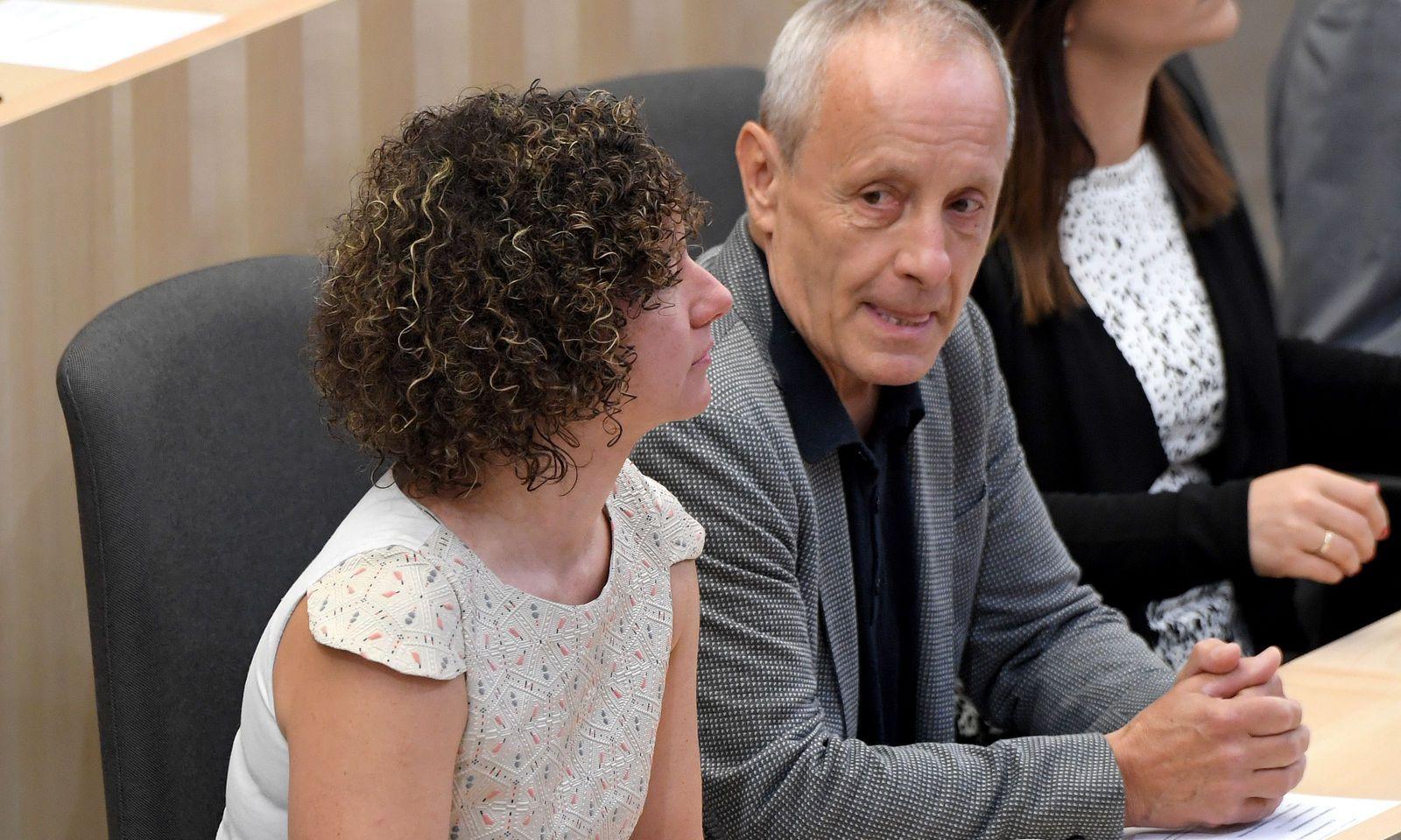 Martha Bißmann und Peter Pilz.