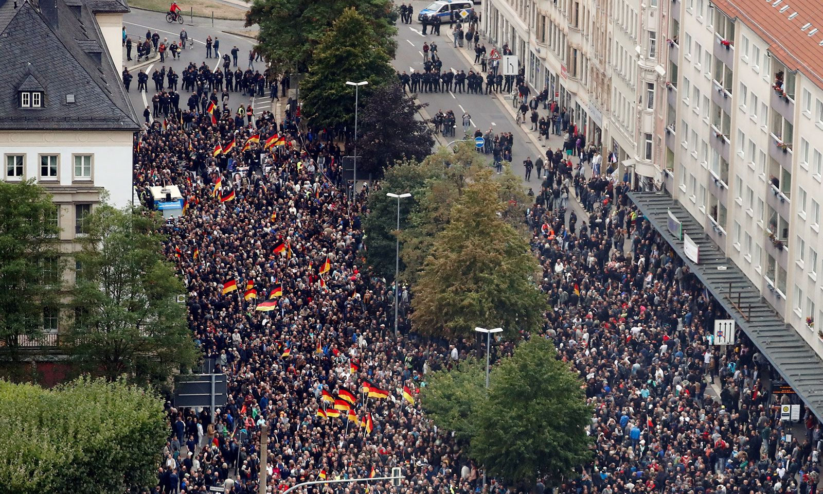 1. September 2018, Chemnitz