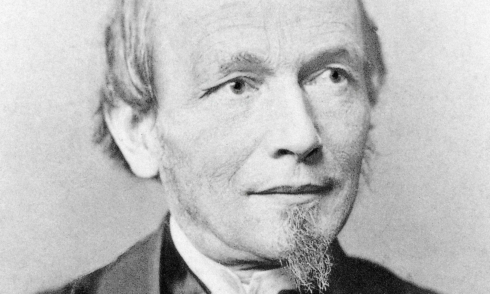 Ferdinand Adolph Lange. Begründer der Glashütter Uhrenindustrie.