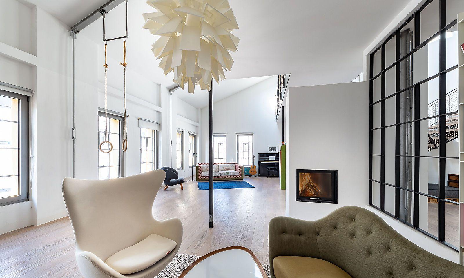 320 Quadratmeter Wohnfläche bietet dieses Loft im 2. Bezirk.