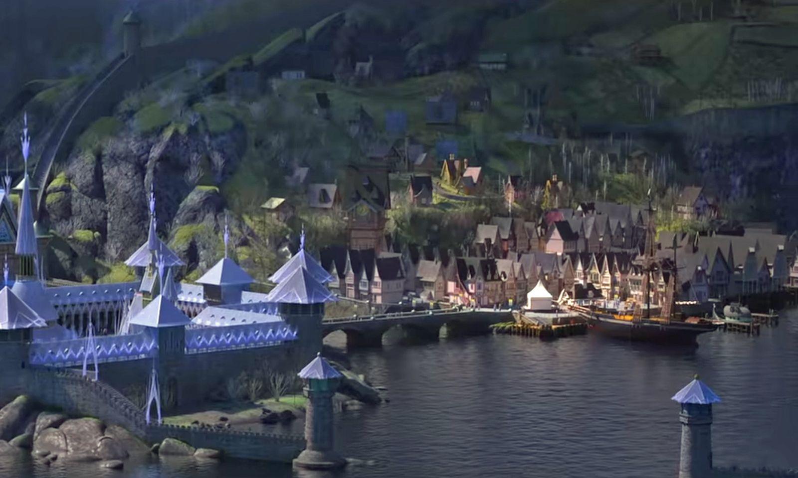 Die Stadt im Film.