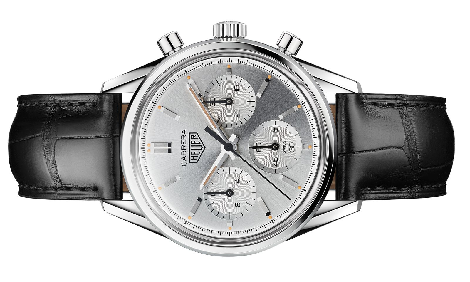 """Retro. TAG Heuer legt den """"Carrera""""-Chronografen aus dem Jahr 1964 mit modernem"""