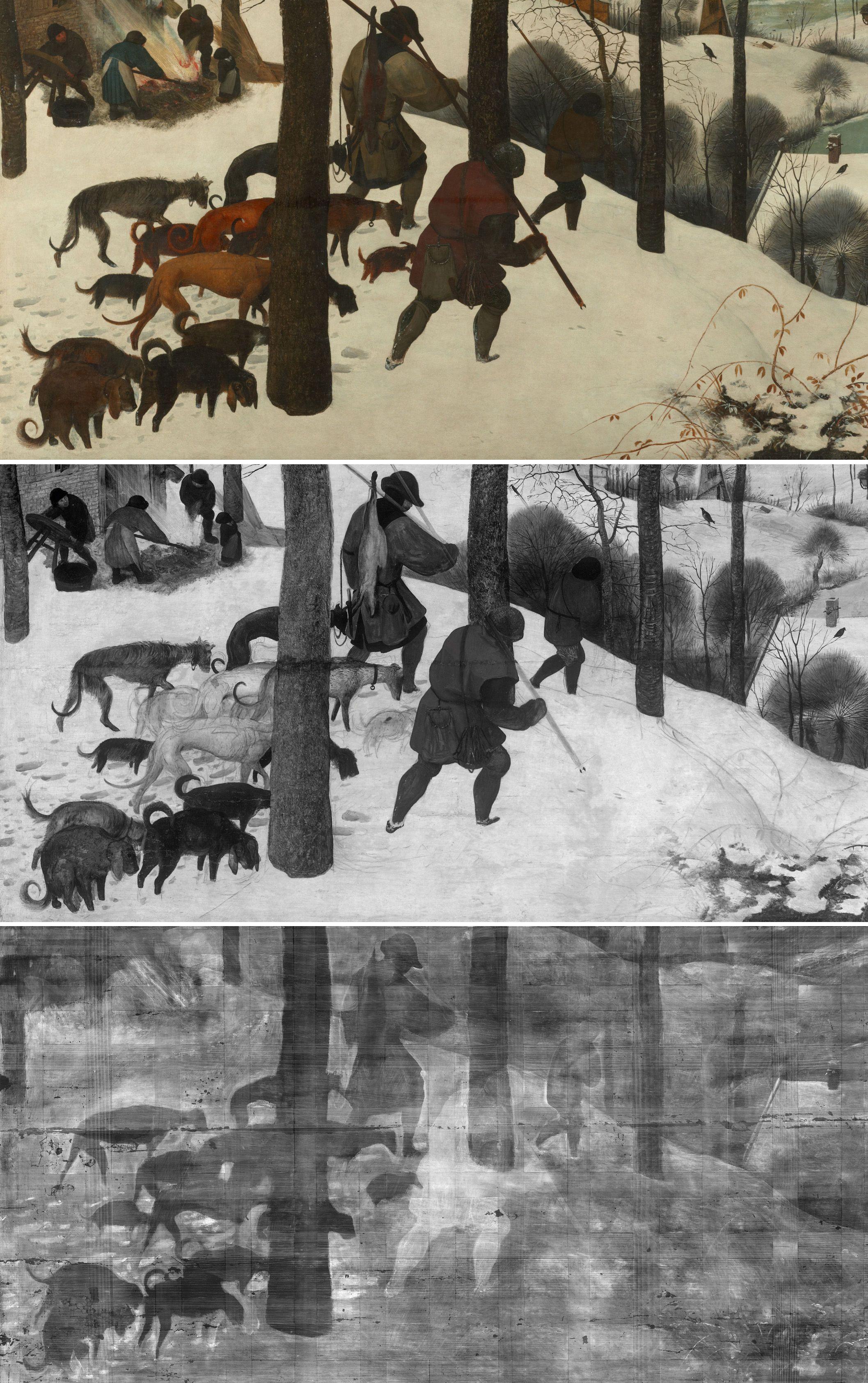 Man kann tief in Bruegels Werke eintauchen