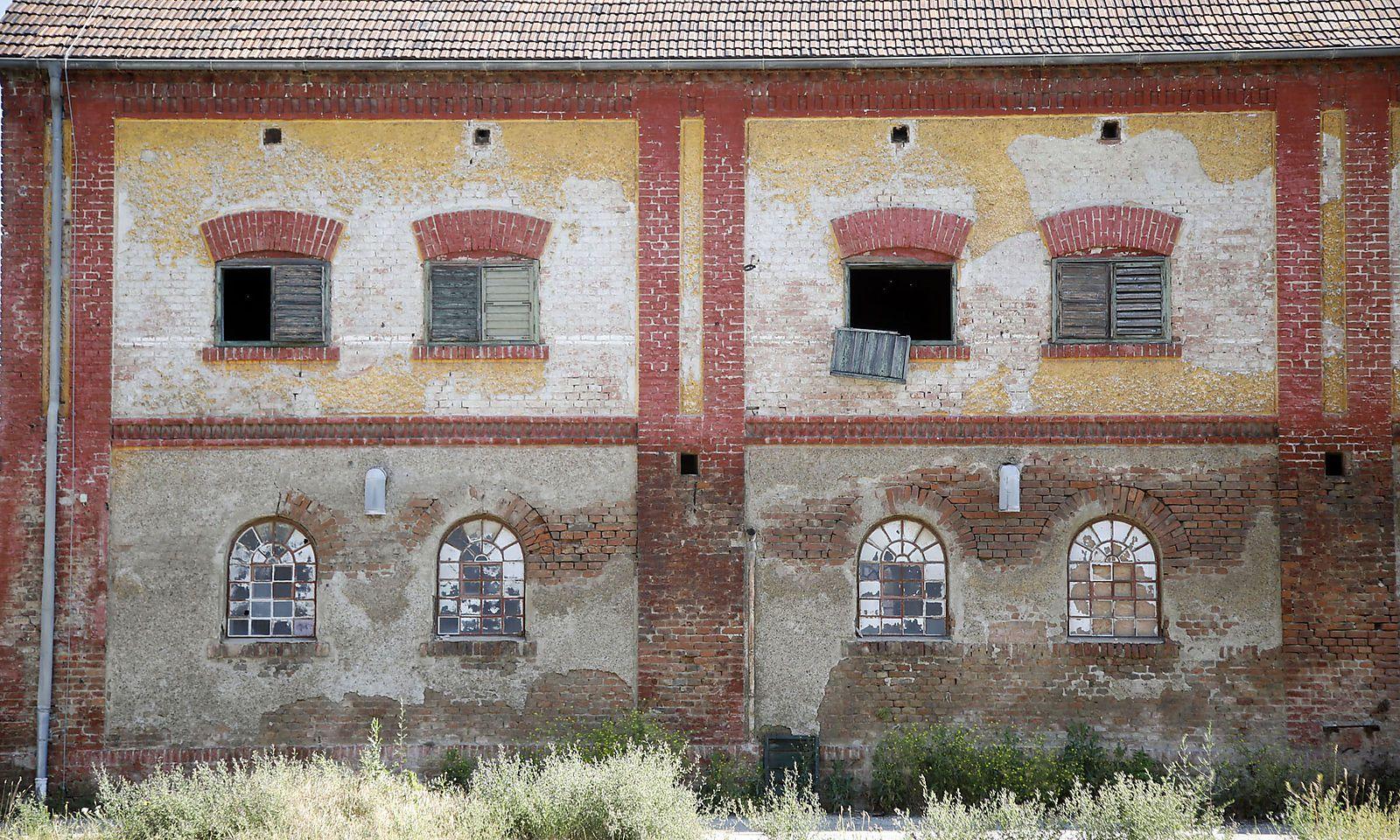 Baudenkmal aus der vorigen Jahrhundertwende.
