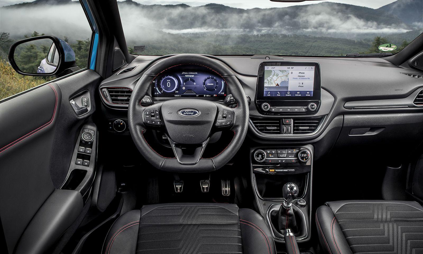 Navi ist schon im Basismodell des Ford Puma an Bord.